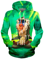 Meditating Rafiki Hoodie, Different Type, On Cue Apparel - Epic Hoodie