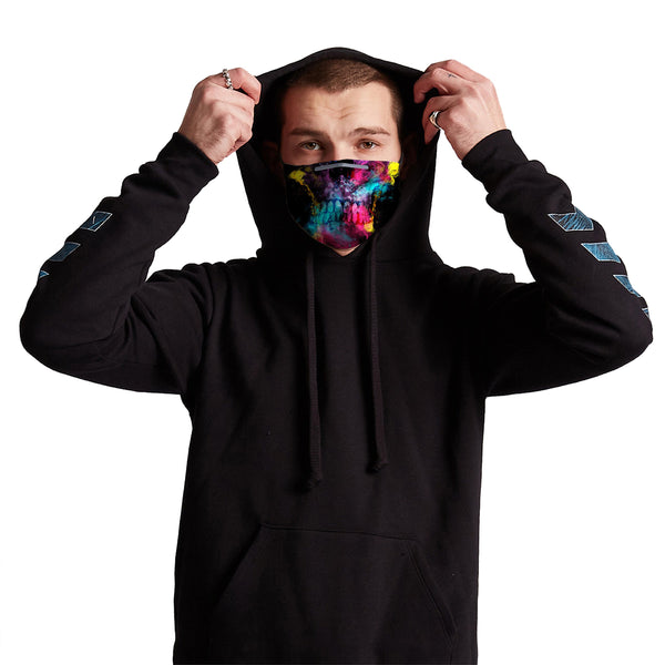 Germ Mask - Skull 49 Anti-Germ & Pollution Mask With (4) PM 2.5 Carbon Filters