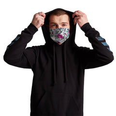 Vapor Anti-Germ & Pollution Mask With (4) PM 2.5 Carbon Filters, Germ Mask, Electric Styles - Epic Hoodie