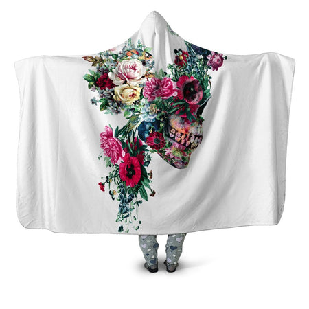 Riza Peker - Floral Dorian Hooded Blanket