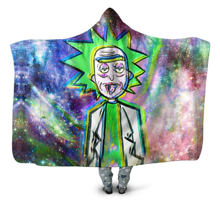 Set 4 Lyfe - Trippy Rick Hooded Blanket