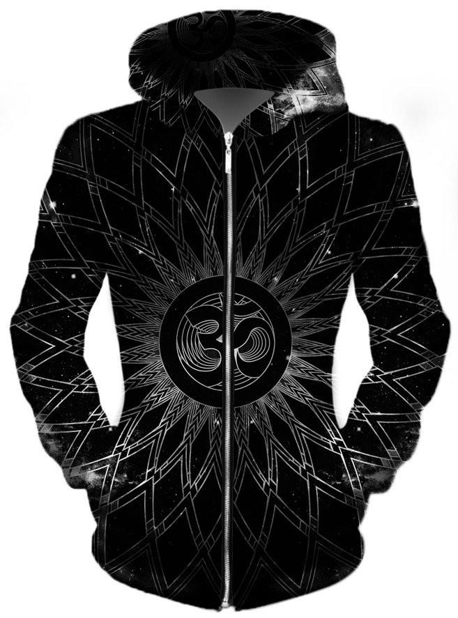 Sacred Unisex Zip-Up Hoodie, Different Type, Set 4 Lyfe - Epic Hoodie