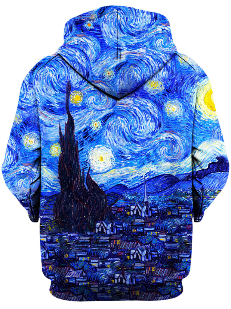 Starry Night Hoodie, On Cue Apparel, T6 - Epic Hoodie