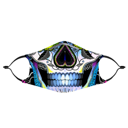 Svenja Jodicke - Suger Skull Anti-Germ & Pollution Mask With (4) PM 2.5 Carbon Filters