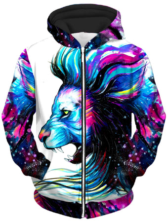 Svenja Jodicke - Lion Color Unisex Zip-Up Hoodie
