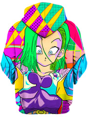 Android 69 Unisex Hoodie, Technodrome, T6 - Epic Hoodie