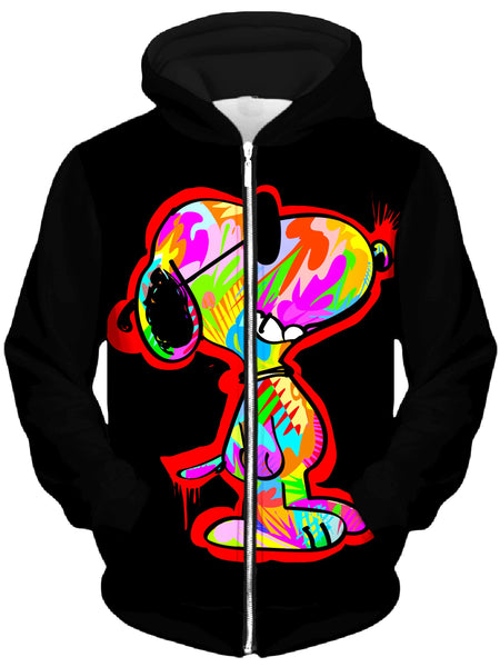 Technodrome - CVB Unisex Zip-Up Hoodie
