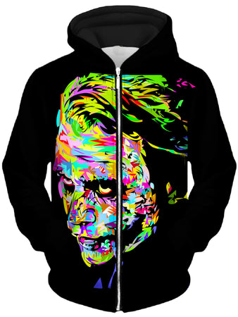 Technodrome - Heath Drome Unisex Zip-Up Hoodie