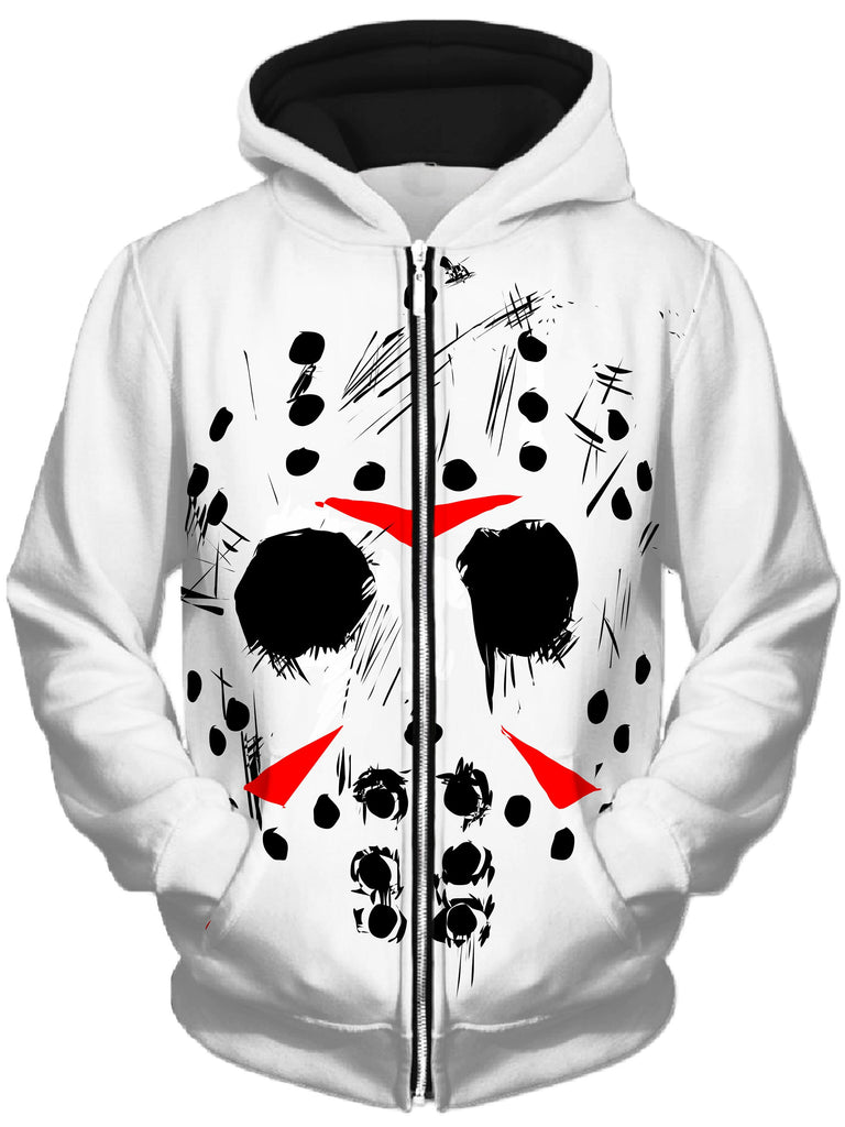 Technodrome - Jason Unisex Zip-Up Hoodie