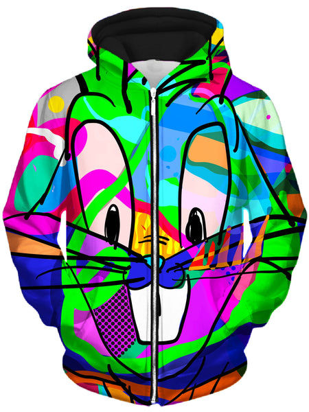 Technodrome - That's All Folks Unisex Zip-Up Hoodie