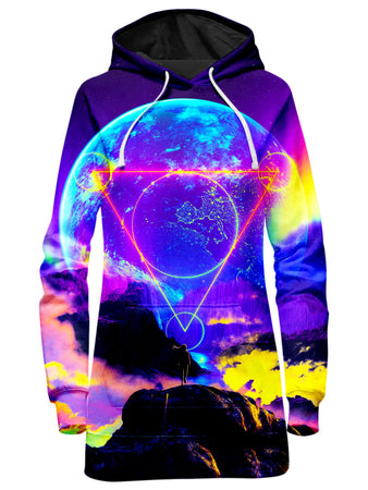 Think Lumi - Neon Night Hoodie Dress