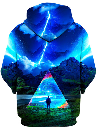 Think Lumi - Rainbow Triangle Unisex Hoodie