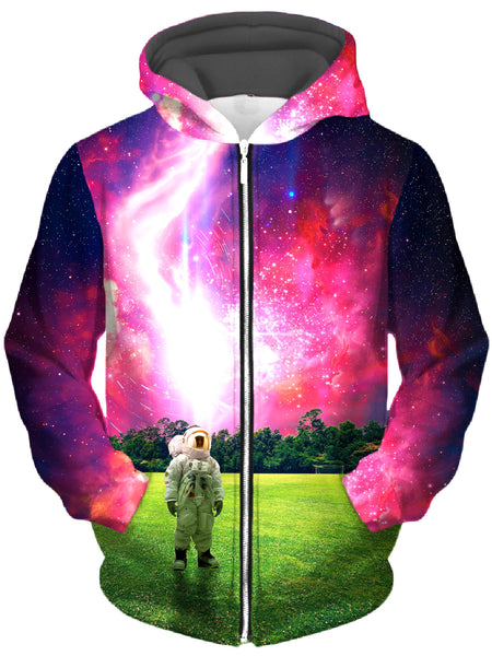 Think Lumi - Glory Daze Unisex Zip-Up Hoodie