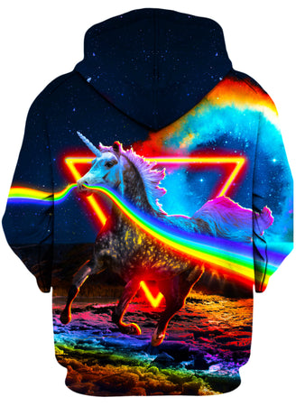 Think Lumi - Rainbow Unicorn Unisex Hoodie