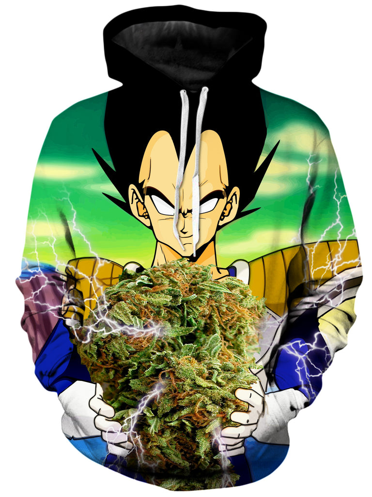 On Cue Apparel - Vegeta Super Saiyan Nug Hoodie