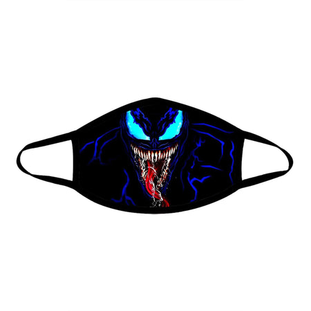 iEDM - Venom Blue Cloth Face Mask