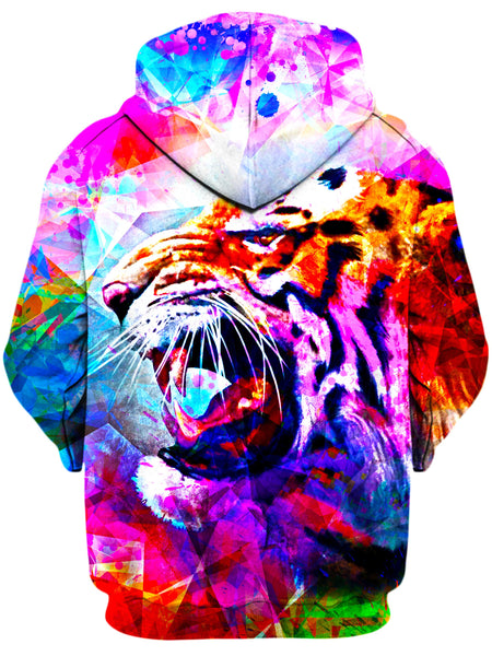 On Cue Apparel - Vivid Tiger Hoodie