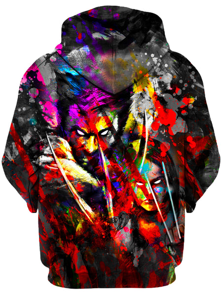 On Cue Apparel - Wolverine and X-23 Hoodie
