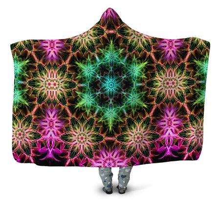 Yantrart Design - DMT Mirage Hooded Blanket