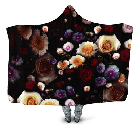 Yantrart Design - Daylight Bloom Hooded Blanket