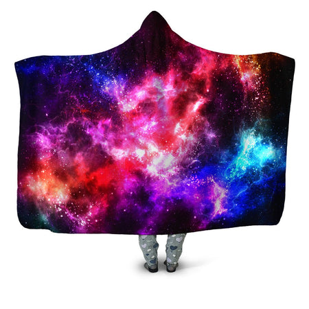 Yantrart Design - Galaxy Vibe Hooded Blanket