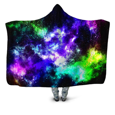 Yantrart Design - Kryptonite Flow Hooded Blanket