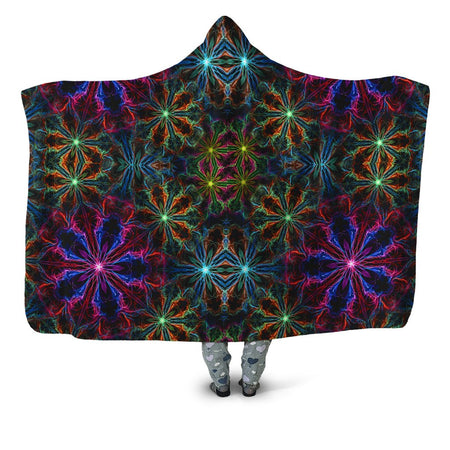 Yantrart Design - Man Trip Hooded Blanket