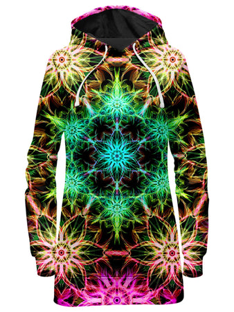 Yantrart Design - DMT Mirage Hoodie Dress