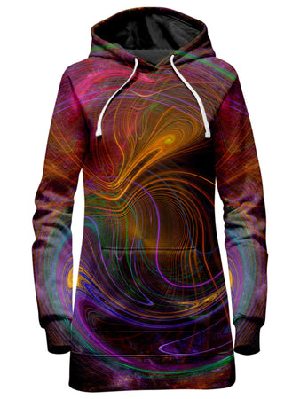 Yantrart Design - Fractalized Hoodie Dress