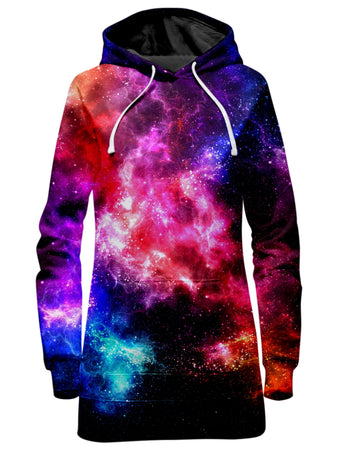 Yantrart Design - Galaxy Vibe Hoodie Dress