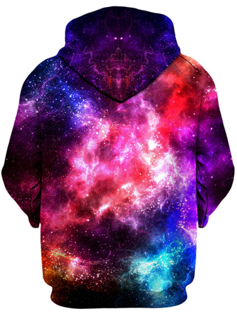 Yantrart Design - Galaxy Vibe Unisex Zip-Up Hoodie