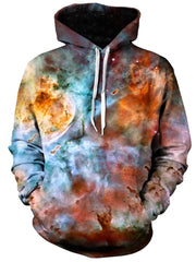 Abstracted Nebula Unisex Hoodie, Gratefully Dyed Damen, T6 - Epic Hoodie