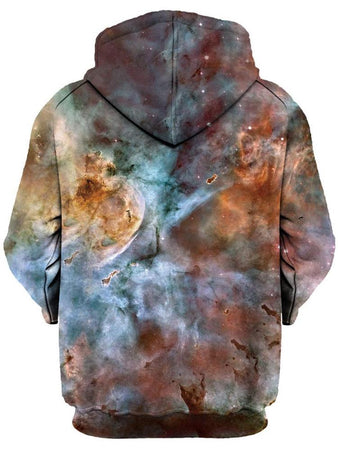 Gratefully Dyed Damen - Abstracted Nebula Unisex Hoodie