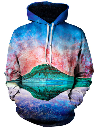 Gratefully Dyed Damen - Alien Rockies Unisex Hoodie