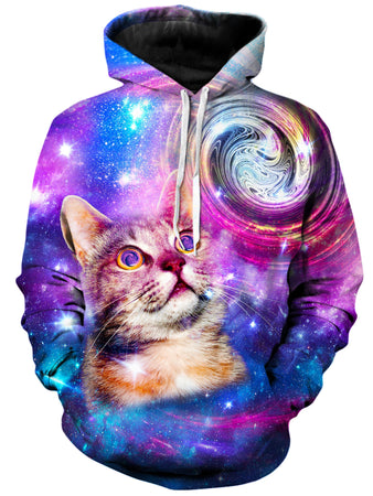 On Cue Apparel - Amazed Cat Hoodie