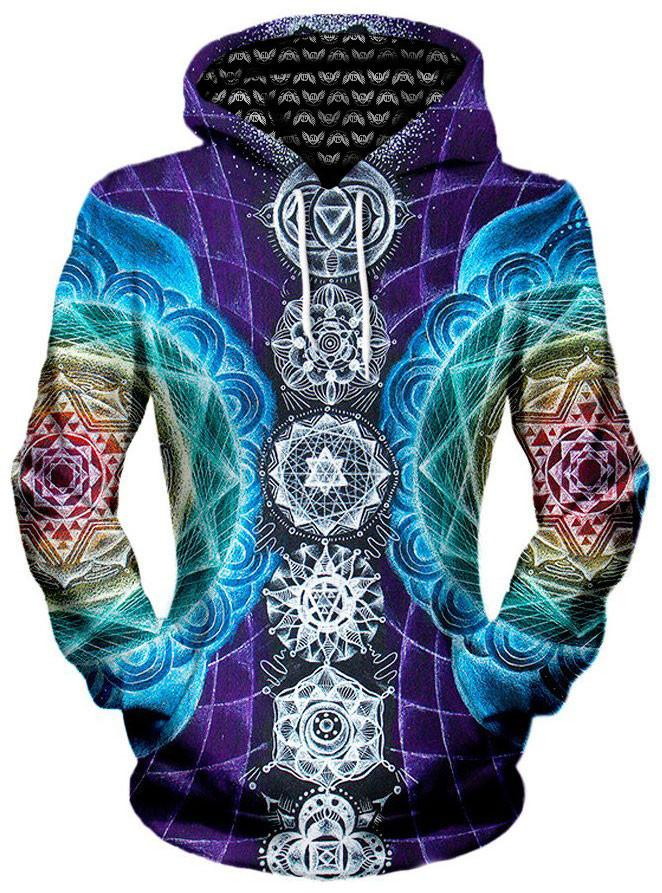 Attuned Unisex Hoodie, Different Type, Gratefully Dyed Damen - Epic Hoodie