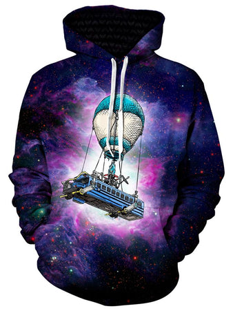 Gratefully Dyed Damen - Battle Bus Unisex Hoodie