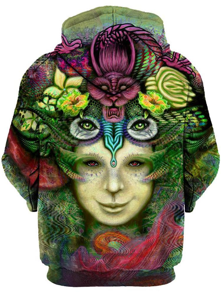 Blossoming Mind Unisex Hoodie, Gratefully Dyed Damen, T6 - Epic Hoodie