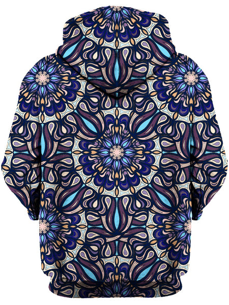 Gratefully Dyed Damen - Blue Bells Unisex Hoodie