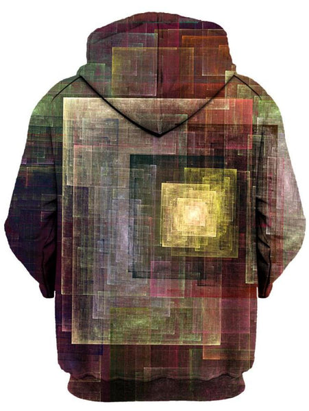Gratefully Dyed Damen - Colorful Impression Unisex Zip-Up Hoodie