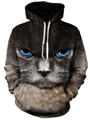 Eye of the Kitty Unisex Hoodie, Gratefully Dyed Damen, T6 - Epic Hoodie