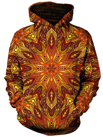 Gratefully Dyed Damen - Forest Fire Unisex Hoodie