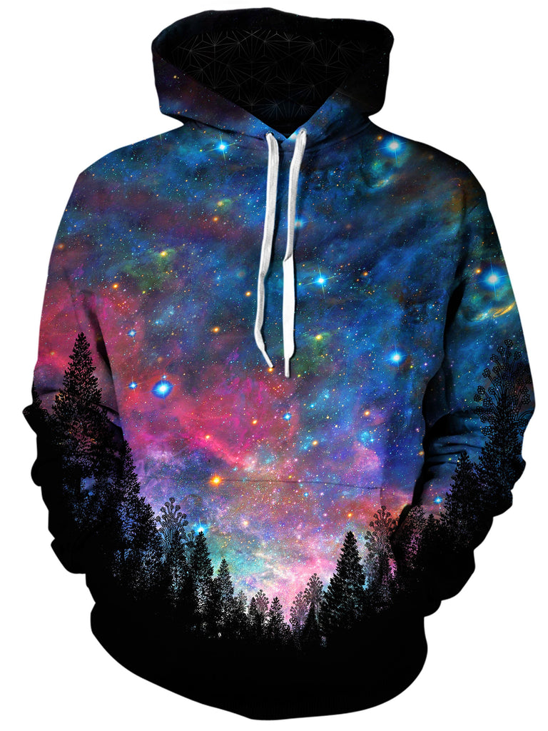 Gratefully Dyed Damen - Galactic Valley Unisex Hoodie
