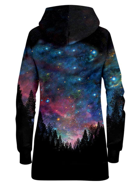 Gratefully Dyed Damen - Galactic Valley Hoodie Dress