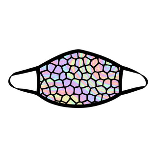 iEDM - Holographic Scales Cloth Face Mask