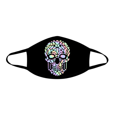 iEDM - Holographic Skull Cloth Face Mask
