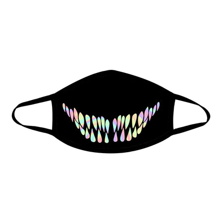 iEDM - Holographic Teeth Cloth Face Mask