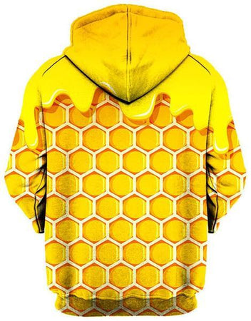 Gratefully Dyed Damen - Honey Unisex Hoodie
