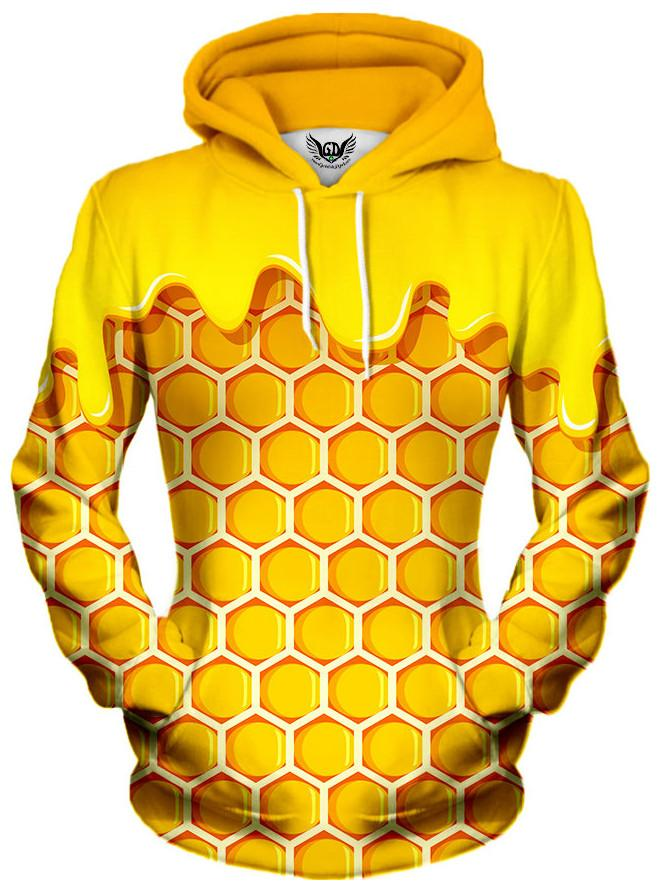 Honey Unisex Hoodie, Different Type, Gratefully Dyed Damen - Epic Hoodie