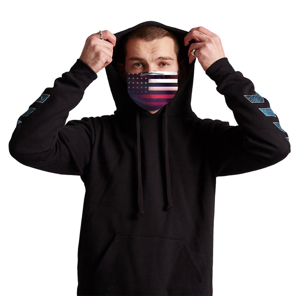 Germ Mask - Galaxy Flag Anti-Germ & Pollution Mask With (4) PM 2.5 Carbon Filters